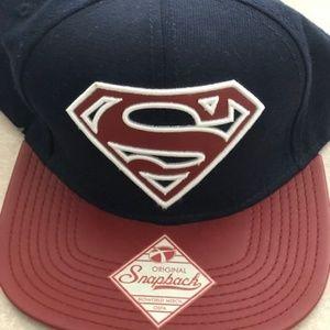 526b082813b3a3 Red flash DC comics snapback hat. $10 $0. Superman Snapback-Original  Memorabilia